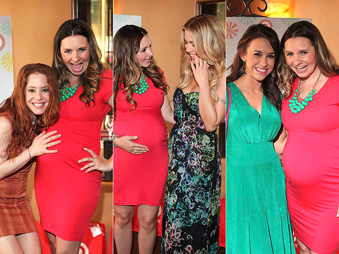 Beverley Mitchell's Chic & Cheery Baby Shower