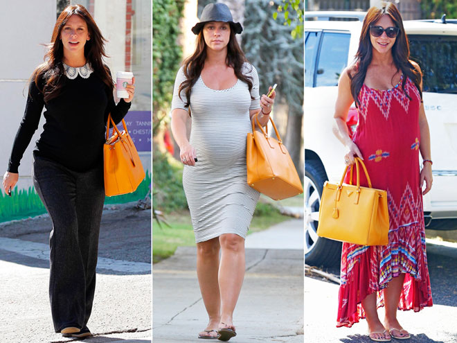 Jennifer Love Hewitt's Chic and Classic Bump Style