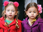 Mini Chic! Tabitha and Loretta Broderick's Adorable Twin Style | Sarah Jessica Parker
