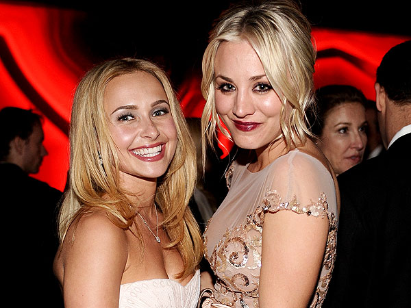 Kaley Cuoco Hits the Dance Floor at Golden Globes Afterparty