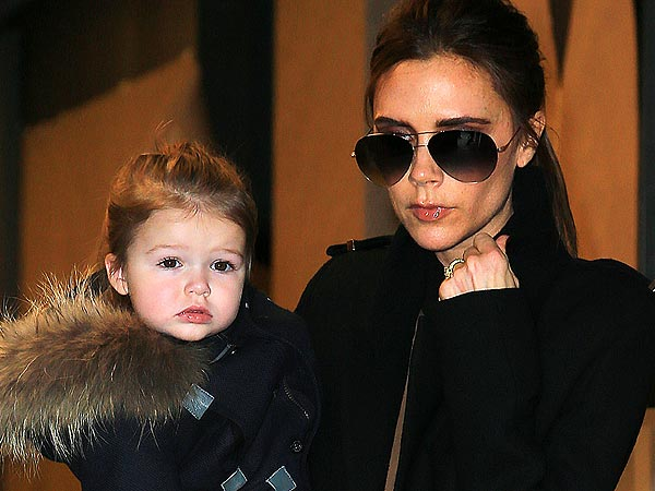 Victoria & Harper Beckham Make Fashion Week a Family Event!