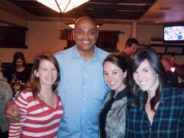 From Our Readers: Charles Barkley Poses for Perfect Photo Opp