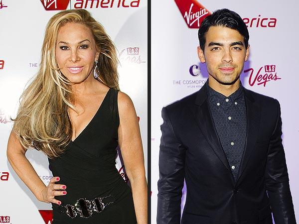 Adrienne Maloof & Joe Jonas Party in Las Vegas