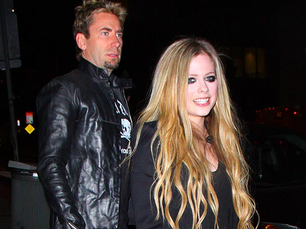 Chad Kroeger Rocks Out at Fiancée Avril Lavigne's Secret Show