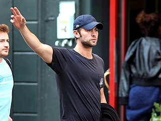 Chace Crawford and a Pal Get a Late Lunch in N.Y.C. | Chace Crawford