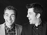 Young Hollywood Awards Photo Booth Fun | Christopher Mintz-Plasse, Dave Franco