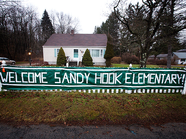 Sandy Hook Students Return to Classes at New School on Thursday