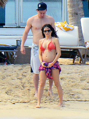 Jenna Dewan-Tatum Shows Off Her Baby Bump in a Bikini