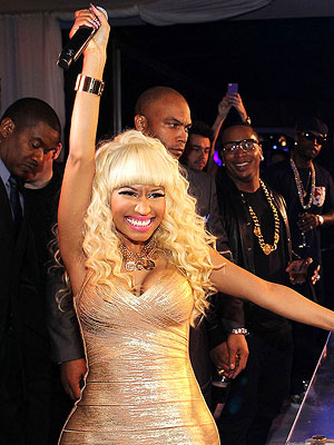 Nicki Minaj Resolves: Resist Shoe Temptations in 2013
