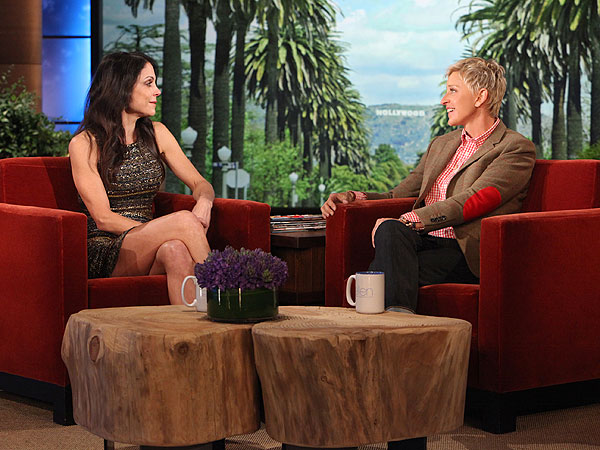 Bethenny Frankel Talks Divorcing Jason Hoppy on Ellen