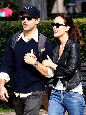 Jason Sudeikis and Olivia Wilde Engaged