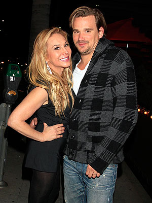 Adrienne Maloof Steps Out with Sean Stewart