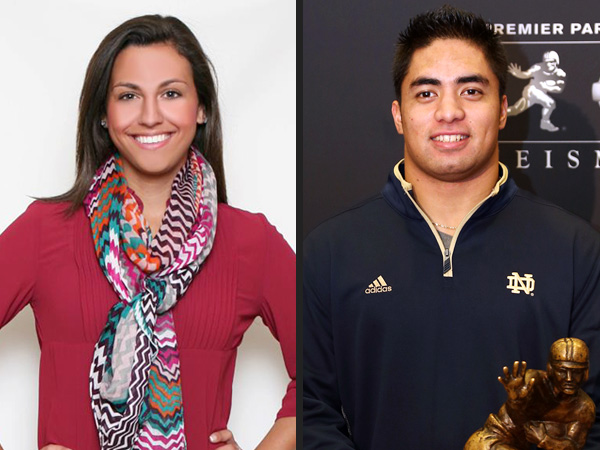 Manti Te&#39;o Hoax: His Real-Life Girlfriend tells PEOPLE About Catfish Hoax