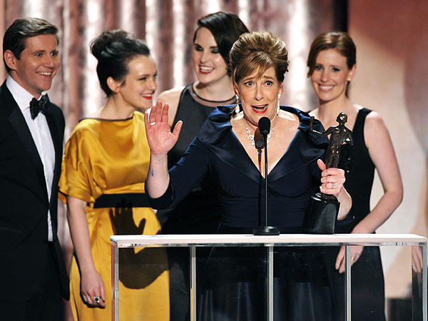 SAG Awards: Downton Abbey Cast Dresses Up