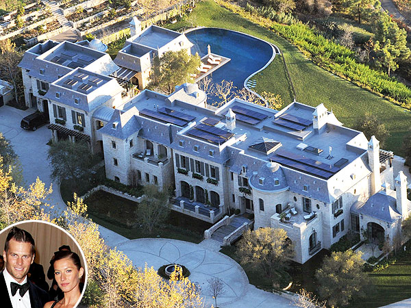 Tom Brady & Gisele Bündchen's New Home Has a Moat