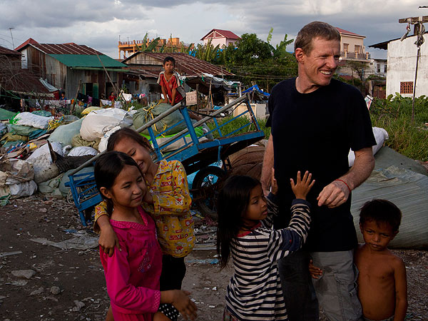 Heroes: Former Hollywood Honcho Scott Neeson Saves Children in Cambodia
