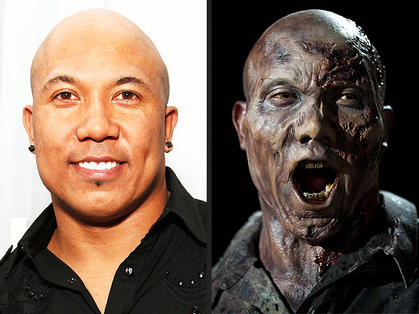 Hines Ward Gets Zombified for The Walking Dead