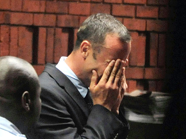 Oscar Pistorius Weeps in Court; Charged with Murdering Reeva Steenkamp