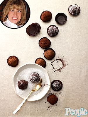 Oscar party chocolate truffles recipe