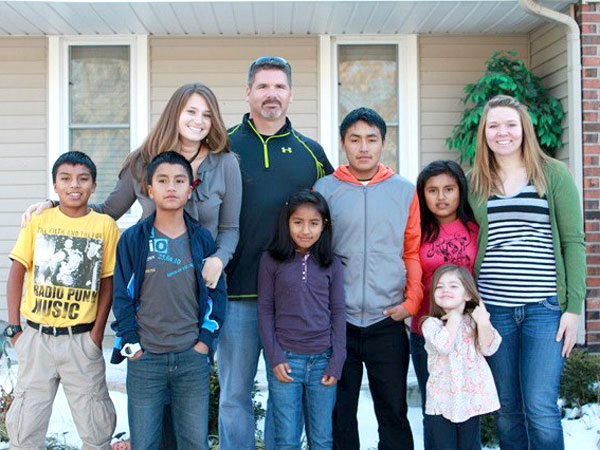 Adoption: Missouri Family Takes in Five Peruvian Siblings