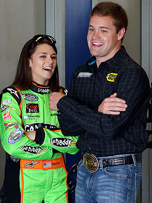 Danica Patrick Opens Up About Dating Competitor Ricky Stenhouse, Jr.