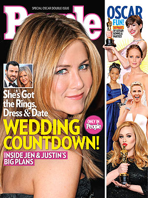 Jennifer Aniston & Justin Theroux's Wedding Planning Underway