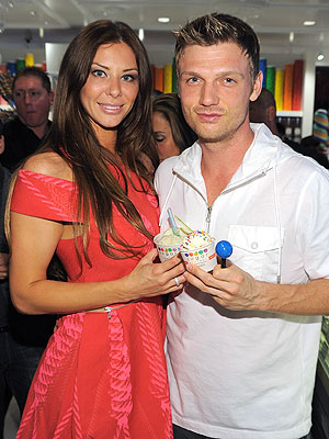 Nick Carter with sexy, Wife Lauren Kitt