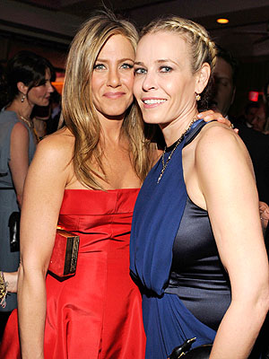 Jennifer Aniston Engaged -- And That's All Chelsea Handler Knows