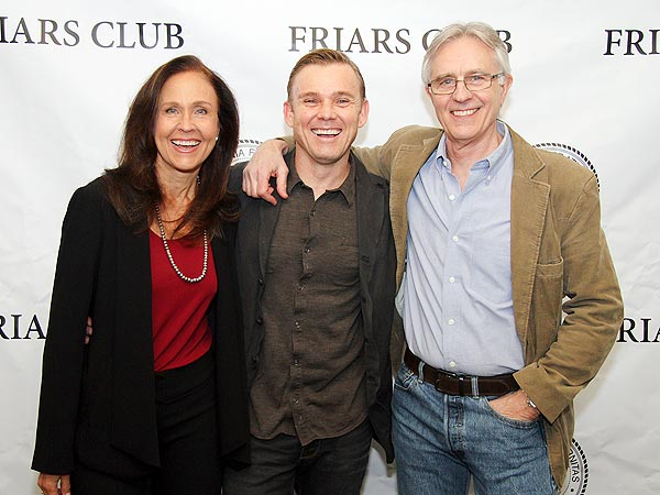 Ricky Schroder Reunites with Silver Spoons Stars Erin Gray and Joel Higgins