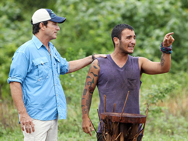 Survivor: Caramoan - Brandon Hantz Breakdown Is Sad, Writes Stephen Fishbach