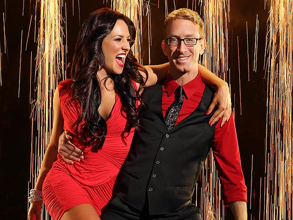 Dancing with the Stars: Andy Dick's Partner Sharna Burgess Is Angry at Judges