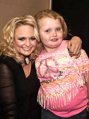 Miranda Lambert Meets Honey Boo Boo Child Star Alana Thompson