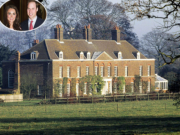 Kate Goes in Hot Pursuit of Fireplaces for Her Country Home