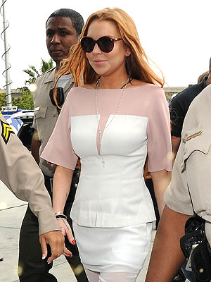 Lindsay Lohan Agrees to 90 Days Locked-Down Rehab