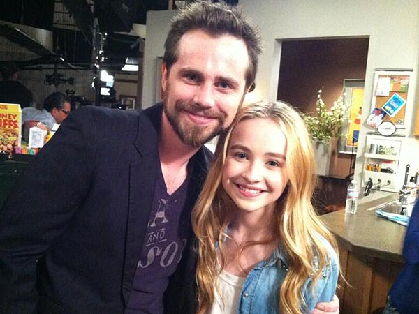 Boy Meets World's Rider Strong Visits Girl Meets World Set