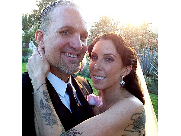 Jesse James Marries Alexis DeJoria: Wedding Day Photo