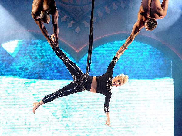 Pink on Tour: How She Got That Rockin' Body