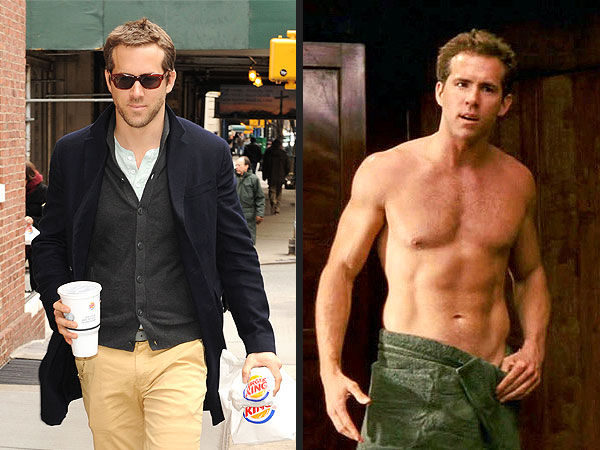 Ryan Reynolds Grabs Burger King in N.Y.C.