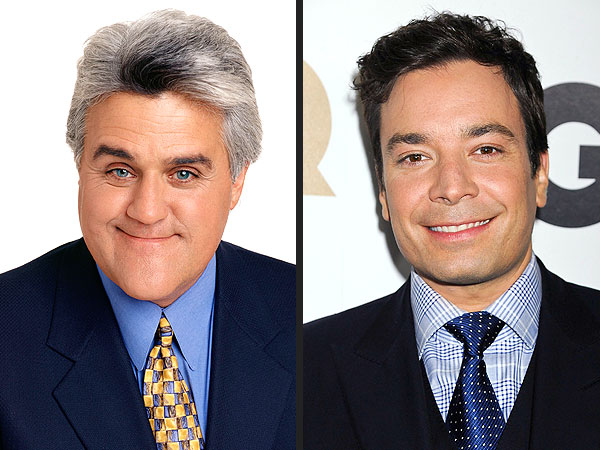 Jimmy Fallon, Jay Leno Spoof Their Late Night Feud in Song