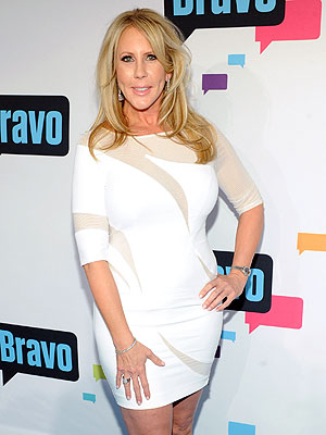 Real Housewives of Orange County: Vicki Gunvalson Is Frosty to Lizzie Rovsek