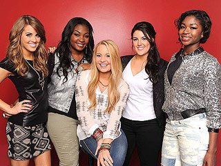 American Idol's All-Female Top 5 Face Elimination