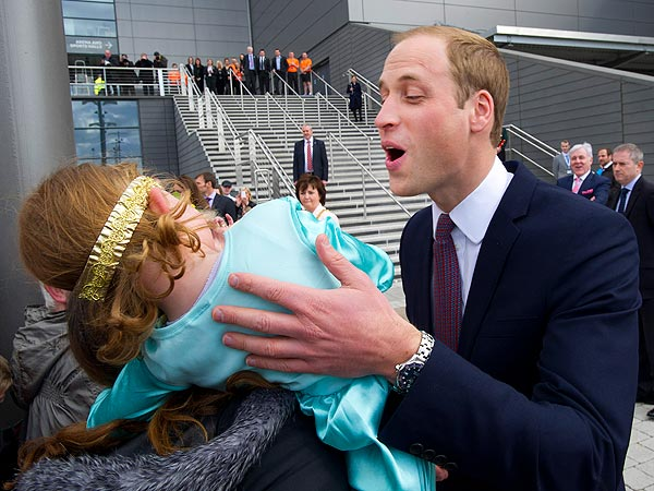 Prince William Gets Snubbed by 4-Year-Old Shona Ritchie