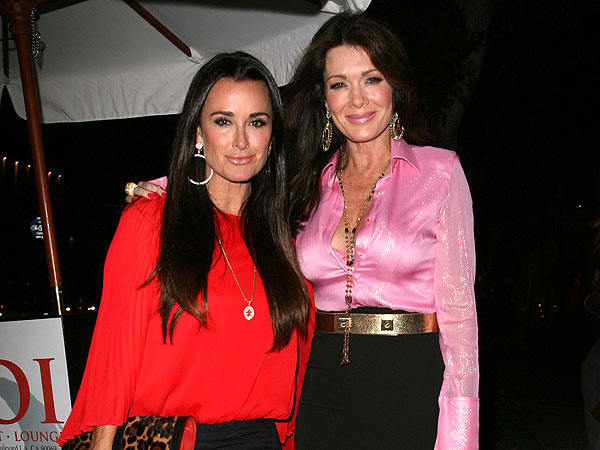 Kyle Richards & Lisa Vanderpump Party for Patti Stanger's Birthday | Kyle Richards, Lisa Vanderpump