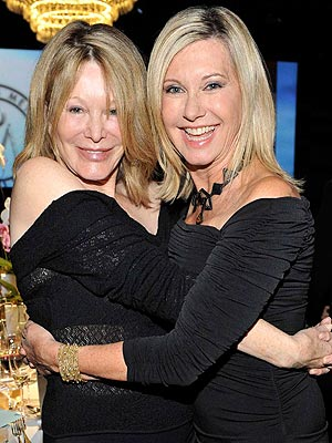 Olivia Newton-John's Sister Rona Diagnosed with Brain Cancer