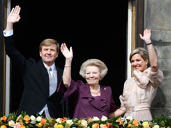 Willem-Alexander Crowned Dutch King