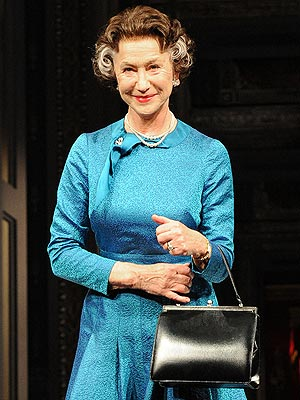 Helen Mirren as Queen Elizabeth Tells Drummers to Be Quiet