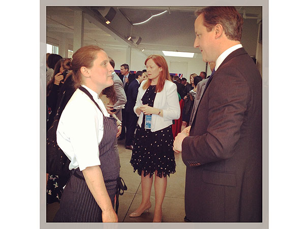 Prince Harry's Visit to New York- April Bloomfield Cooked for Him