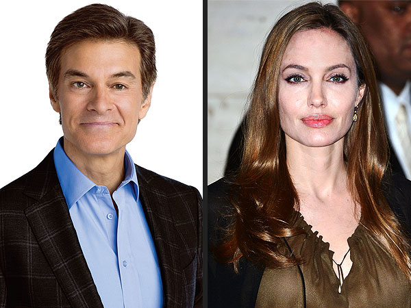 Angelina Jolie's Announcement a 'Kick in the Pants' for Women, Says Dr. Oz