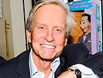 Michael Douglas Says Kissing Matt Damon in Behind the Candelabra Was 'Comfortable'