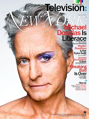 Behind the Candelabra: Michael Douglas on Kissing Matt Damon
